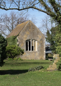 Derelict chapel, Sittingbourne, Kent, Ruths coast walk.