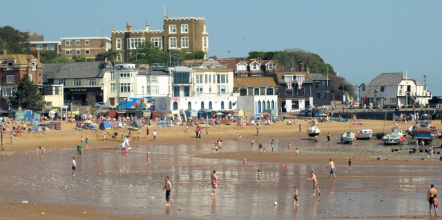 Broadstairs Bay, Ruth's coastal walk through Kent.