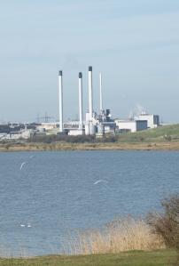 Paper Mill, Sittingbourne, Kent. Ruth's coastal walk.
