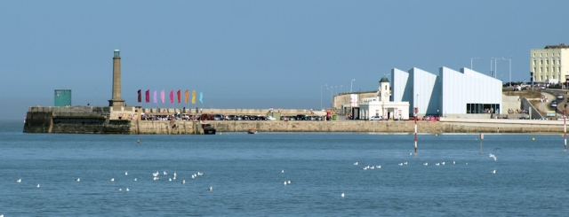 Margate with Turner Contemporary, Ruth round the coast.