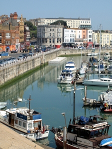 Ramsgate harbour, Ruths coastal walk.