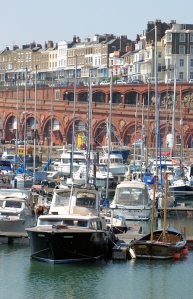 Ramsgate, Ruth's coastal walk.