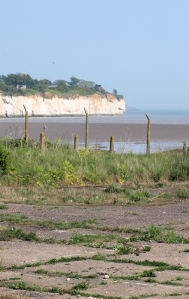 View across Pegwell Bay, Kent. Ruth's coastal walk.