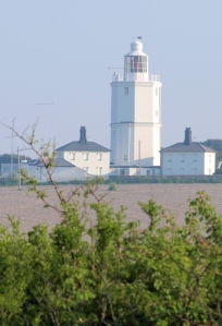 Lighthouse at North Foreland, Ruth's coastal walk