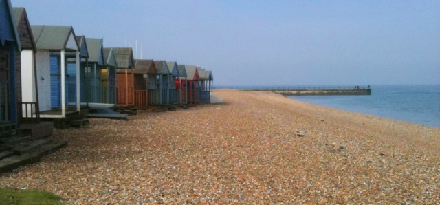 beach huts, Herne Bay - Ruth in Kent