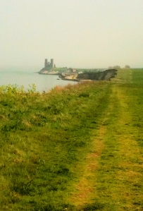 approach to Reculver