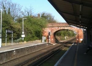 Birchington station, Kent. Ruth's coastal walk.