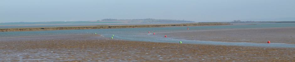Conyer Creek to Isle of Sheppey, Kent, Ruth's coastal walk.