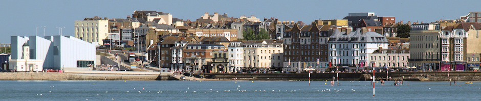 Margate header, Ruth's coastal walk blog.