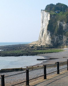 St Margaret's at Cliffe, Kent, Ruths coast walk.