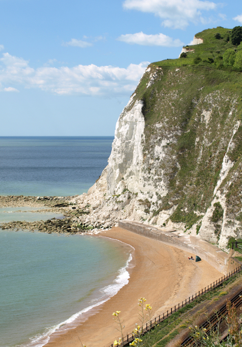 White Cliffs of Dover, Shakespeare Cliff, Ruth's coastal walk.