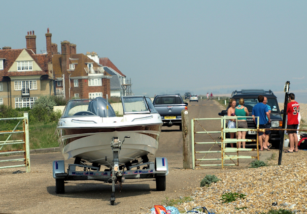 Sandwich Bay Estate, Ruths coast walk, Kent.