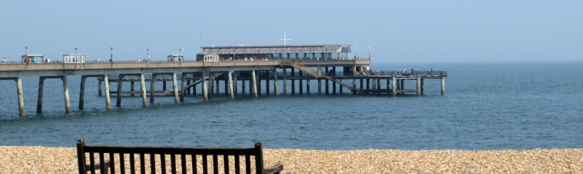 Deal Pier, Kent. Ruths coast walk around the UK