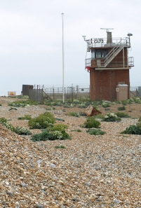 Watchtower, Range, Dungeness. Ruths coastal walk.