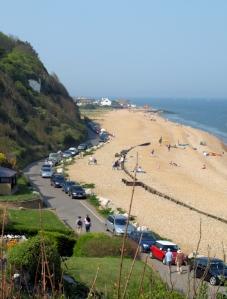 Oldstairs Bay, Ruth's coastal walk, Kent.