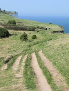 Saxon Shore Way, towards Hope Point, Ruth's coastal walk through Kent.