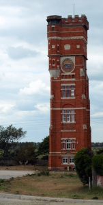 Water Tower at Littlestone-on-Sea, Ruths coastal walk.