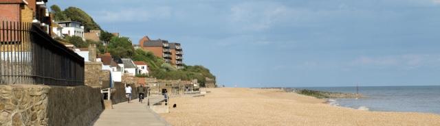 Promenade to Hythe - Sandgate - Ruths coastal walk.