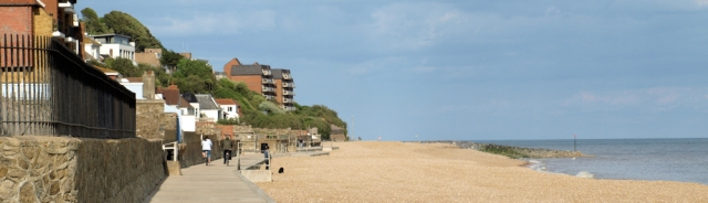 Promenade to Hythe - Sandgate - Ruths coastal walk.