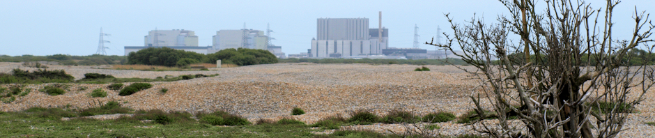 Nuclear Power Station, Dungeness, Kent, Ruth's coastal walk around the UK