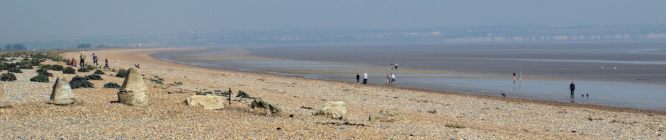 Sandwich Flats, Ruths coastal walk, UK