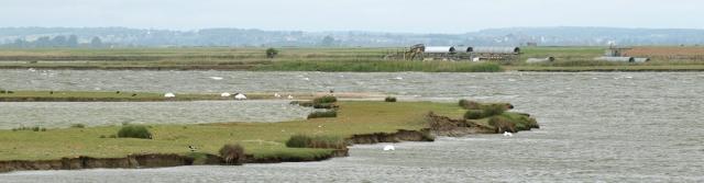 Lakes near Lydd, Kent, Ruth's coastal walk