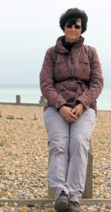 Ruth on Winchelsea Beach