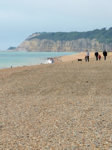 Looking towards Cliff End, Ruths coast walk, Sussex.