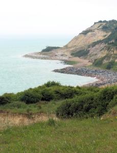 Fairlight Cove, Ruth's coastal walk, through Sussex