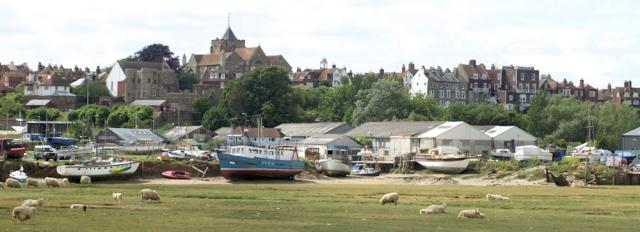 Rye, Ruth's coastal walk through East Sussex.