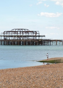 Brighton's other Pier - Ruths walk around the coast, in Sussex