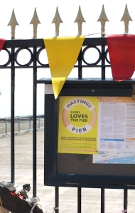 Love the pier - Hastings - Ruths coastal walk, Sussex