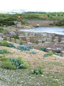 Tide Mills, ruins - near Seaford, Sussex, Ruths coastal walk.