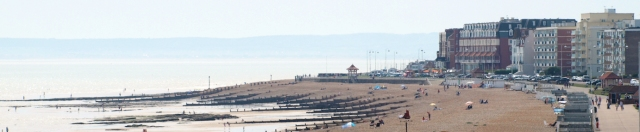 Bexhill, Ruth's coastal walk, in Sussex