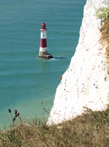 Beachy Head light house, Ruth's coastal walk.