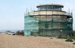 Martello Tower 55, Norman's Bay, Sussex. Ruths's coastal walk.
