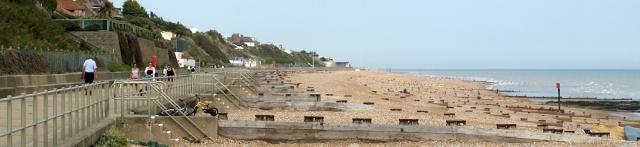 Bexhill promenade, Ruth's coastal walk