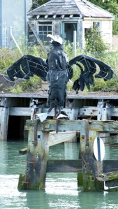 Sculpture1- Newhaven - Ruth's coast walk.