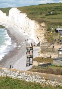 Birling Gap, Sussex, Ruth's coastal walk.