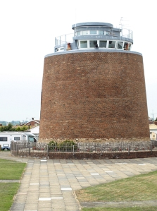 Martello Tower 61, Ruth's coast walk, Pevensey Bay, Sussex.