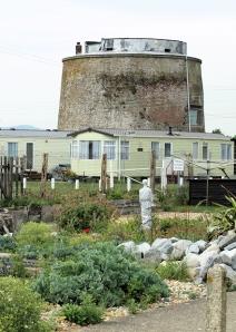 Martello Tower 62, Pevensey Bay, Ruth's coast walk through Sussex.