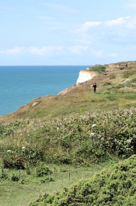 Walk along Harbour Heights, Newhaven, Sussex. Ruths coastal walk.