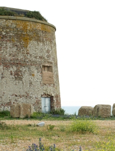 Martello Tower 64, East side of Eastbourne, Ruth's coastal walk in Sussex
