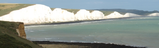Seven Sisters, view from Seaford Head, Ruth's coast walk