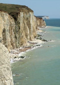 Cliffs at Peacehaven, Sussex, Ruth's coastal walk.