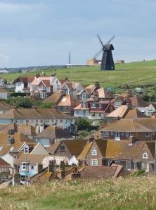 Beacon Hill Windmill, outside Brighton - Ruth's walk round the coast.