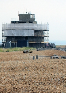 Martello Tower 66, Langney Point, Sussex, Ruth's walk round the coast.