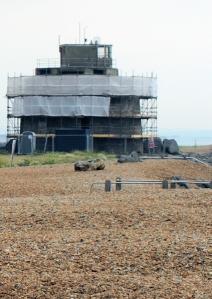 Martello Tower 66, Langney Point, Sussex, Ruth's walk round the coast.