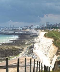 Heading towards Brighton, Ruths coast walk