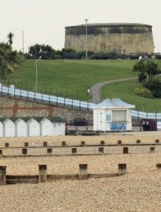 Martello Tower 73, Eastbourne, Ruth's coastal walk